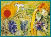 Marc Chagall - The Lovers