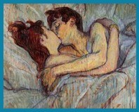 Touluose Lautrec - In Bed The Kiss